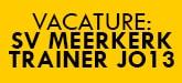 Vacature SV Meerkerk